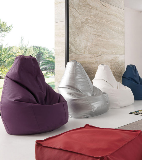 Cubi e sacchi cianchetta mobili for Sacchi poltrone